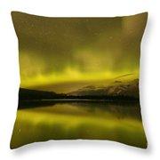 Jasper Dancing Skies Throw Pillow