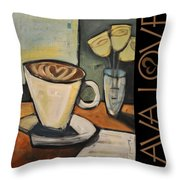 Java Love Poster Throw Pillow