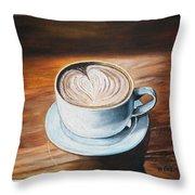 Java Time #1 Throw Pillow