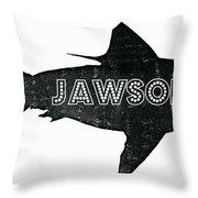 Jawsome Throw Pillow