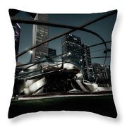 Jay Pritzker Pavilion - Chicago Throw Pillow