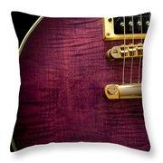Jay Turser Guitar 6 Throw Pillow