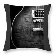 Jay Turser Guitar Bw 1 Throw Pillow