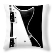 Jay Turser Guitar Bw 2 Throw Pillow