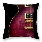 Jay Turser Guitar 3 Throw Pillow