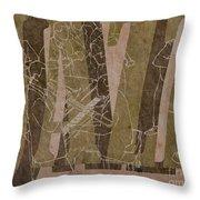 Jazz 34 Duke Ellington - Brown Throw Pillow