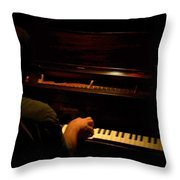 Jazz Estate 11 Throw Pillow