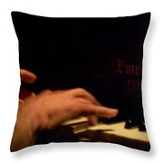 Jazz Estate 3 Throw Pillow