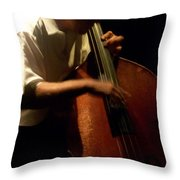 Jazz Estate 5 Throw Pillow