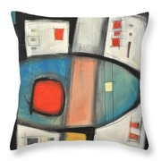 Jazz Improv 081510a Throw Pillow