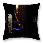 Jazz Lounge Throw Pillow