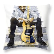 Jazz Marcus Miller 4 Throw Pillow