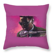 Jazz. Ray Charles.1. Throw Pillow