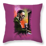 Jazz. Ray Charles.2. Throw Pillow
