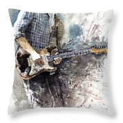 Jazz Rock John Mayer 05  Throw Pillow