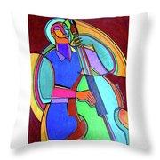 Jazzin #5 Throw Pillow