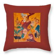 Jazzing Throw Pillow