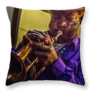 Jazzy Hands 938 Throw Pillow