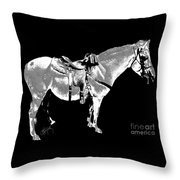 Jazzy Ride Throw Pillow