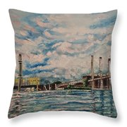 J.c. Weadock Plant Throw Pillow