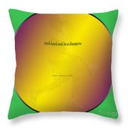 Jdm Tennis 2 Gr W Jdm F Throw Pillow