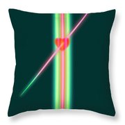 Jealous Love Throw Pillow