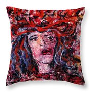 Jealousy Throw Pillow