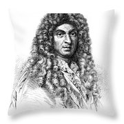 Jean-baptiste Lully, French Composer Throw Pillow
