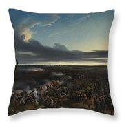Jean Horace Vernet   The Battle Of Montmirail Throw Pillow