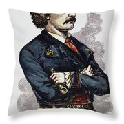 Jean Lafitte (c1780-c1826) Throw Pillow