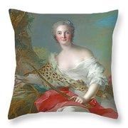Portrait of Constance-Gabrielle-Magdeleine Bonnier de la Mosson Canvas Print