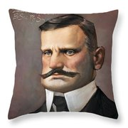 Jean Sibelius Throw Pillow