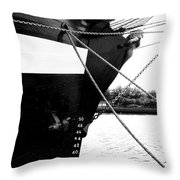 Jeanie Johnston Dublin 2 Throw Pillow