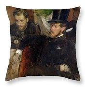 Jeantaud Linet And Laine Throw Pillow