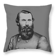 Jeb Stuart -- Confederate General Throw Pillow
