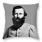 J.e.b. Stuart Throw Pillow by War Is Hell Store