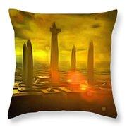 Jedi Temple - Pa Throw Pillow