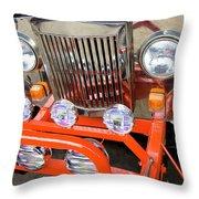 Jeep Throw Pillow