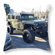 Jeep Custom Throw Pillow