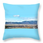 Jeep Territory Throw Pillow