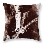 Jeff Beck - 01 Throw Pillow