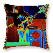 Colors At The Day On The Green Throw Pillow