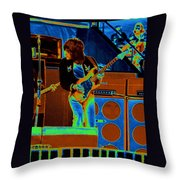 Live In Oakland 1976 Throw Pillow