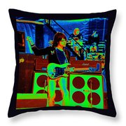 Live In Concert 1976 Throw Pillow