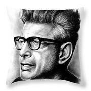 Jeff Goldblum Throw Pillow