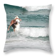 Jeff Spicolli Throw Pillow