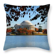 Jefferson In Splendor Throw Pillow