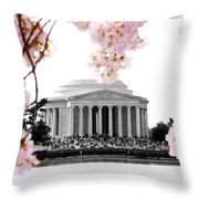 Jefferson In Spring Throw Pillow