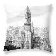 Jefferson Market New York Throw Pillow