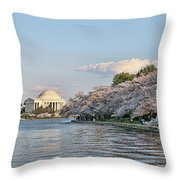 Jefferson Memorial # 4 Throw Pillow